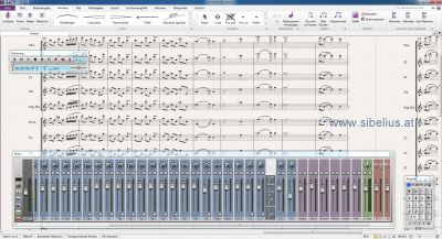 Notationssoftware Sibelius 7 - neue Version!