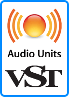 Audio Units & VST - VST (on Windows and Mac) and Audio Units (on Mac only) are state-of-the-art standards for high-quality instrumental sounds
