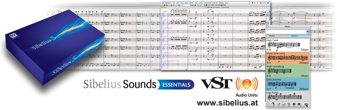 Sibelius 6 - he fastest, smartest, easiest way to write music is now even better.